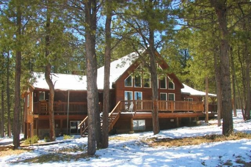 Luxury Angel Fire Chalet Home 5 Br Ba Hot Tub Mountain Views