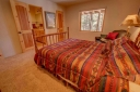 Master Suite has a King Size Bed and an Adjoining Bathroom