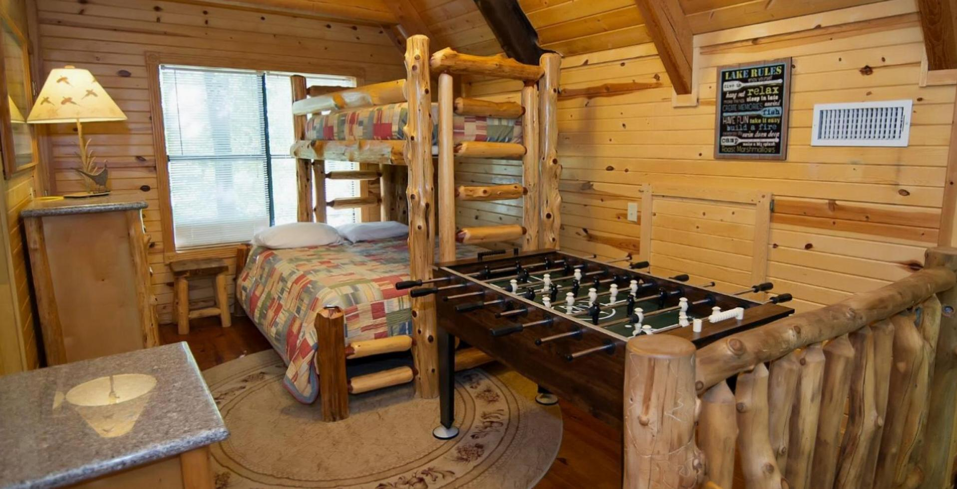 Nightly Cabin Rentals Hochatown Ok The Colorado Cabin