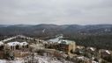 Christmas in the Ozark Mountains overlooking Table Rock Lake and Silver Dollar City.
