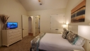 The guest bedroom has a Queen size bed, cable TV and access to the main bathroom off the bedroom and hallway.