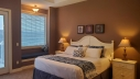 The master bedroom includes a King size bed, cable TV and a private bathroom adjoining the bedroom. Enjoy the gorgeous views of Table Rock Lake, the Ozark Mountains and Silver Dollar City right from the bedroom.