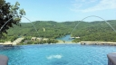 Cliffs Resort on Indian Point has an Infinity Pool that overlooks Table Rock Lake and the Beautiful Ozark Mountains.