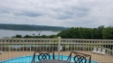Swimming Pool overlooking Table Rock Lake from Clubhouse up the hill