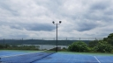 Tennis Court overlooking Table Rock Lake